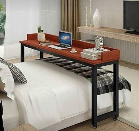 Bed chill wooden bed type tray/table picture