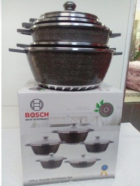 Bosch 10-piece cookware picture