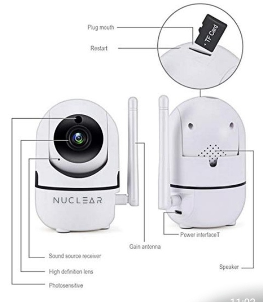 2mp smart wi-fi baby camera picture