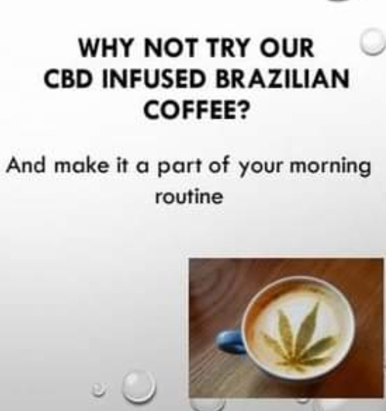 ⏭️500g cbd infused brazilian coffee picture