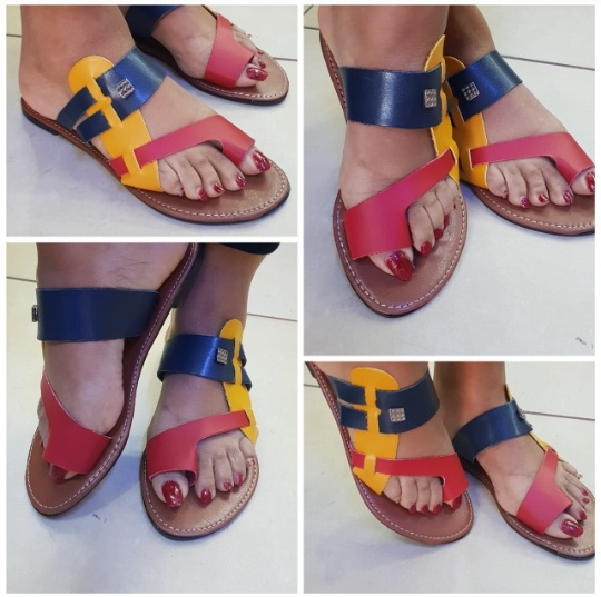 Ray ladies sandals (not geniune leather) picture