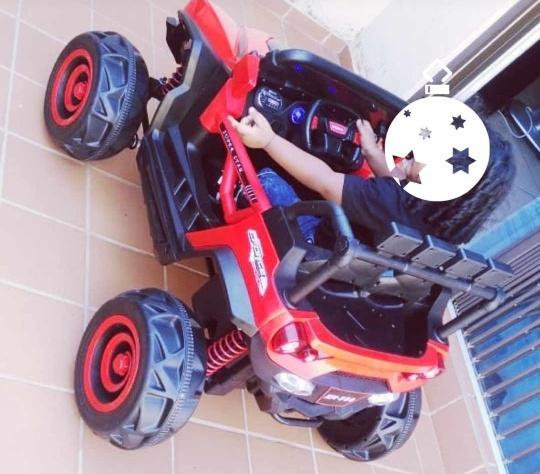 Predator electric ride picture