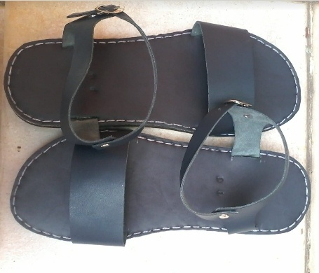 ⏭️beautiful handcrafted sandals & shoes geniune leather picture