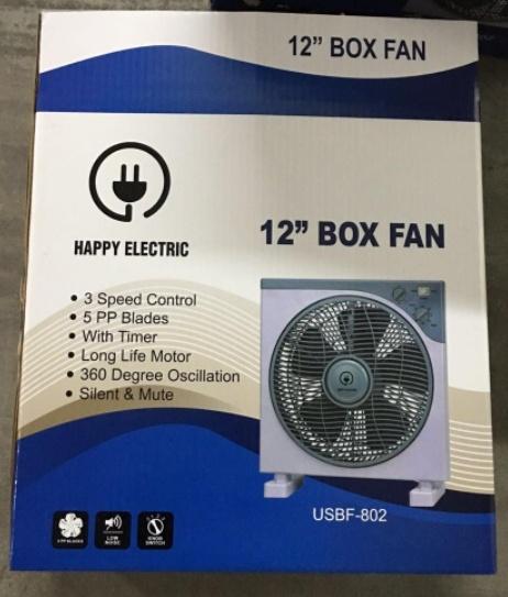 ⏭️12inch box fan picture