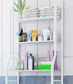 Multi functional bathroom storage shelf picture