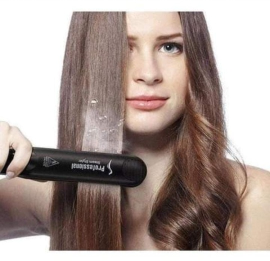 Professional salon steam straightener picture