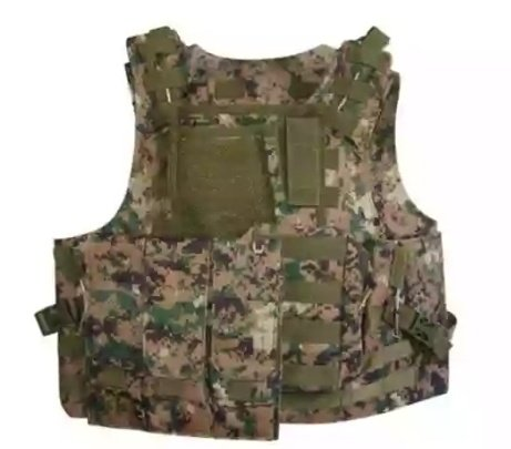 🌗tactical vest (heavy duty, digital woodland camo) - new picture