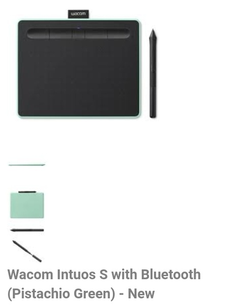 ⏭️tablet wacom intuos s with bluetooth picture