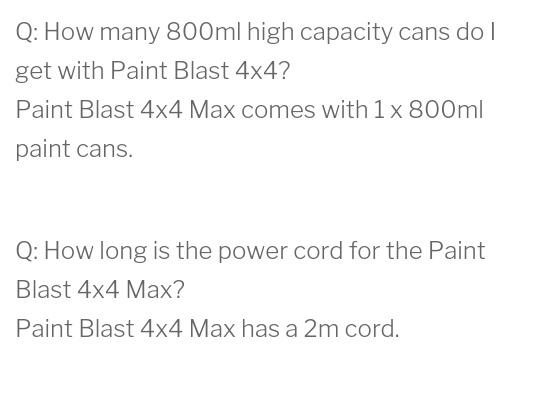 4 x 4 blast spray gun picture