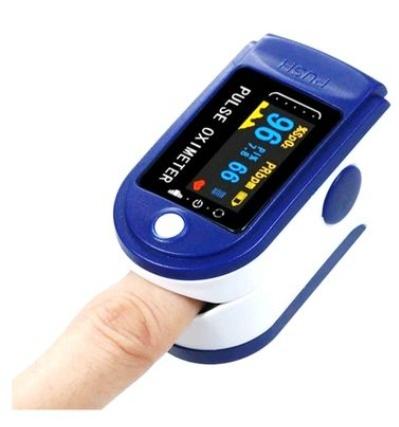 Pulse oximeter medical finger picture