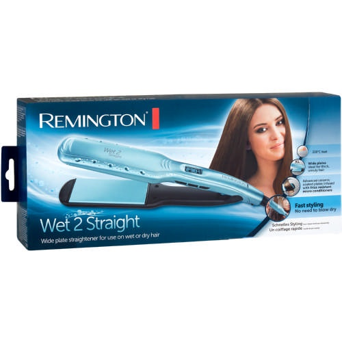 Remington wet2straight wide plate straightner s7350 picture