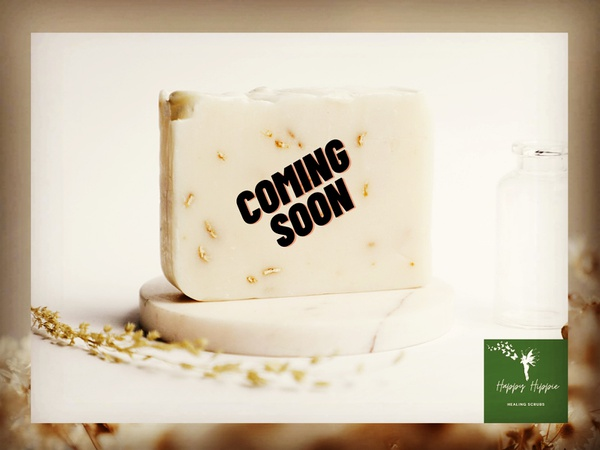 Honey and oats soap bar picture
