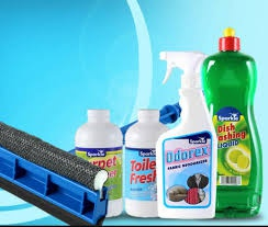 Cleaning chemicals picture