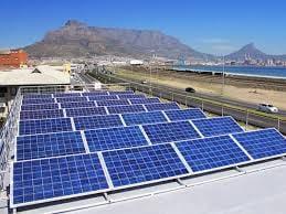Solar panels picture
