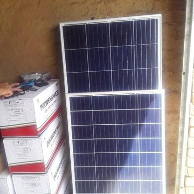 Solar water pumps picture