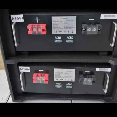 Solar systems batteries & inverters picture