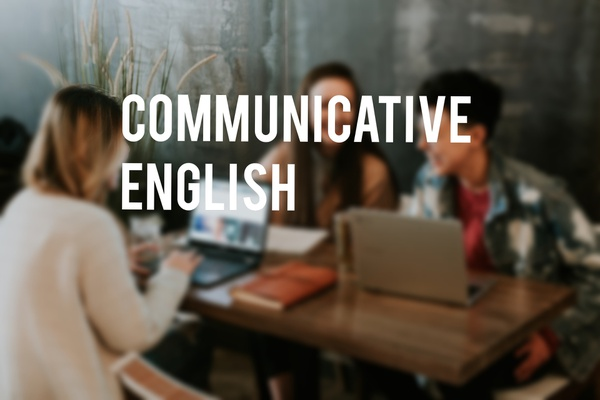 Communicative english course picture