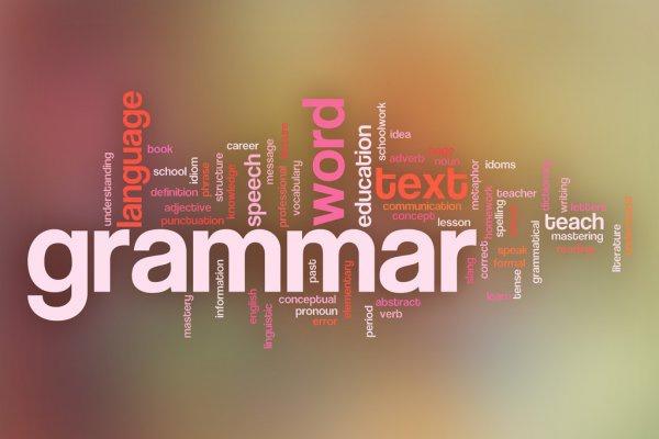 Grammar course picture