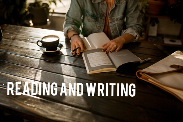 Reading and writing course picture