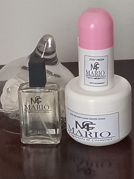Combo ( perfume, deodorant and body lotion) picture
