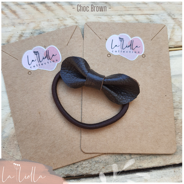 #5-1 hair bands   choc brown range picture