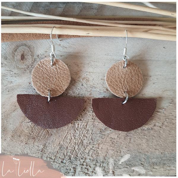 #55 half-circles | sandy & brown picture