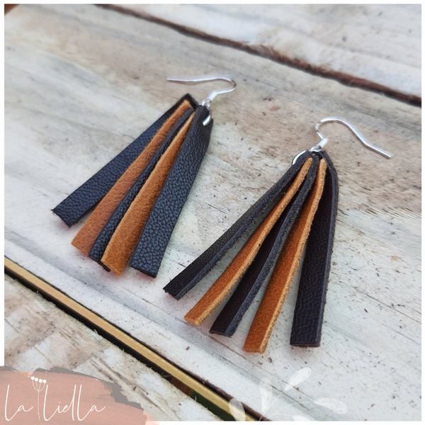 #59d narrow lines | tanned & choc brown picture