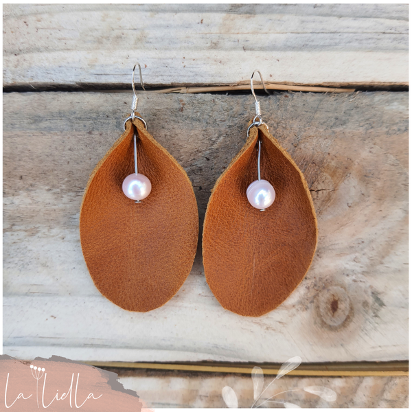 #49b pearl oval | tanned brown picture