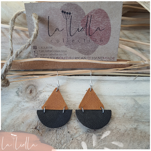 #58 tri-halves | tanned & choc brown picture