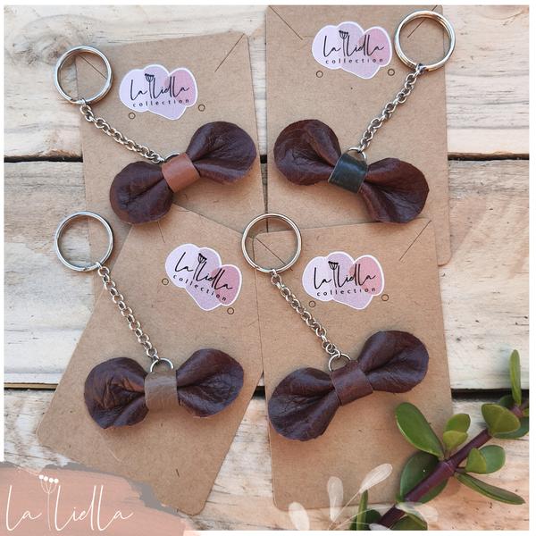 #6-3 key ring   burgundy brown range picture