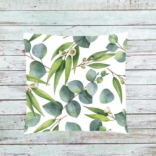 Eucalyptus leave cushion k1 picture