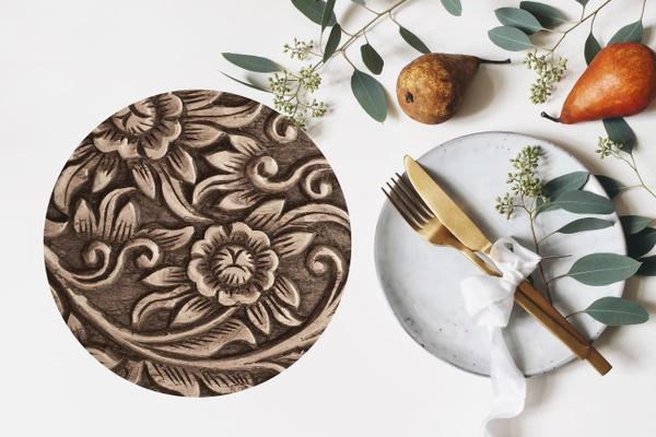 Ps012 ceramic potstand/platter picture