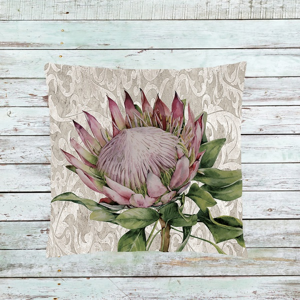 K8 protea on lace picture