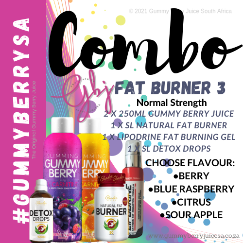 Gummy berry combo fat burner 3 (normal) picture