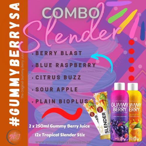 Slender living gummy berry slender sachets picture