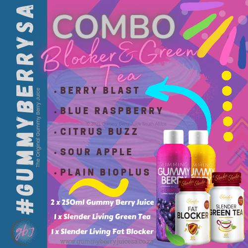 Juice, blocker & green tea picture
