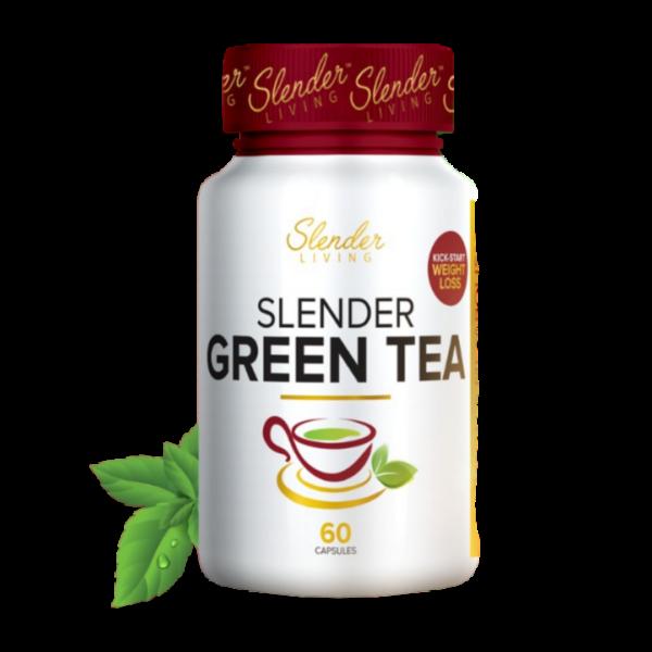Slender livings green tea capsules picture