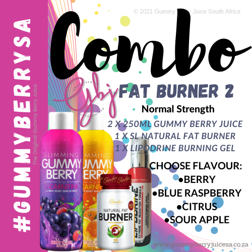 Gummy berry combo fat burner 2 (normal) picture