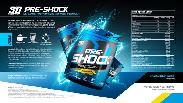3d pre shock xt [600g] picture