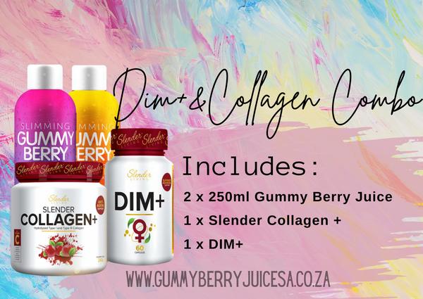 Juice, collagen & dim+ picture