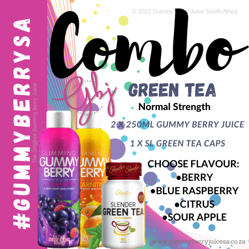 Gummy berry combo green tea (normal) picture