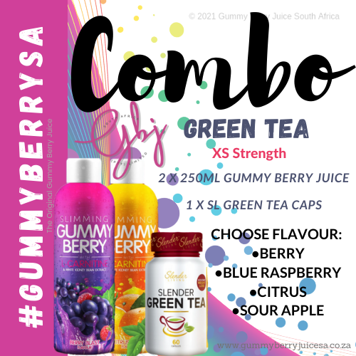 Gummy berry combo green tea (xs) picture