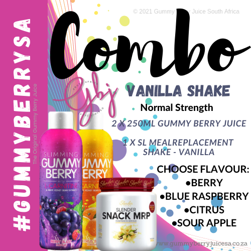 Gummy berry combo vanilla shake (normal) picture