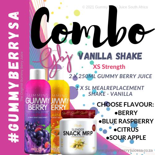 Gummy berry combo vanilla shake (xs) picture