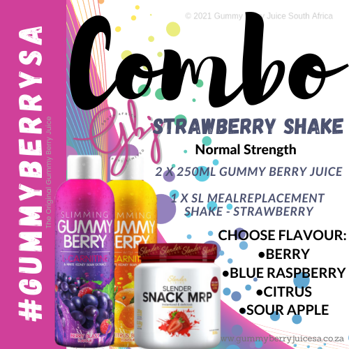 Gummy berry combo strawberry (normal) picture