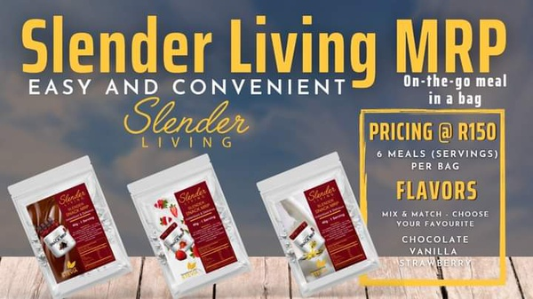 Slender living on~the~go~shake~bags! picture