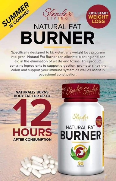 Slender living natural fat burner picture