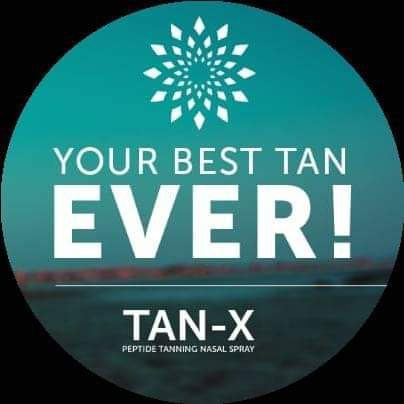 Tan-x peptide tanning nasal spray picture