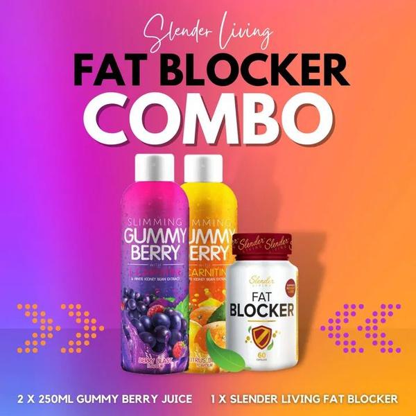 Gummy berry juice fat blocker combo picture