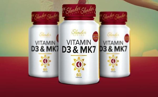Slender living vitamin d3 & mk picture
